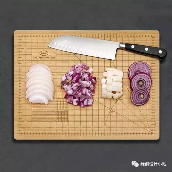 厨房竹制砧板,设计师的童趣设计